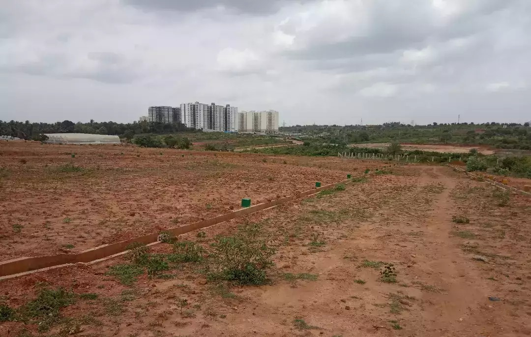 40*60 BDA commercial site for sale in kempegowda layout near Mysore road