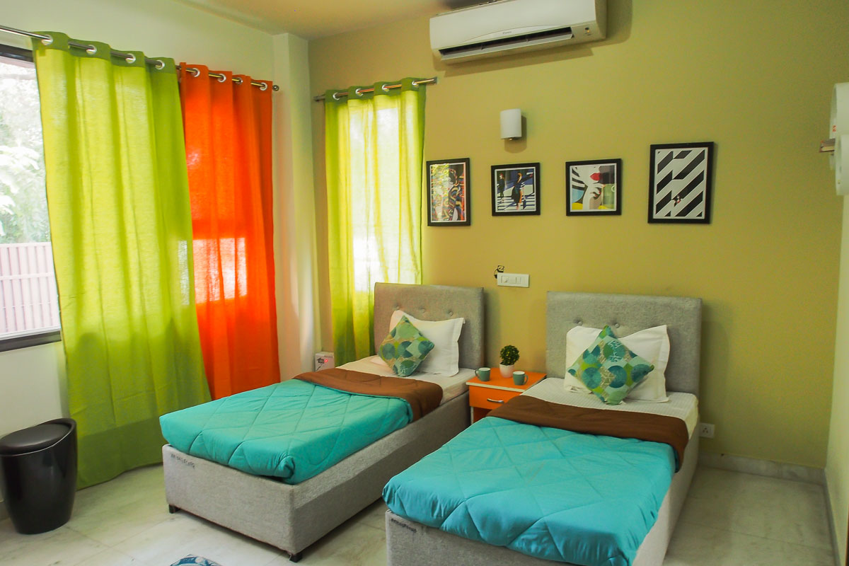 CoHo - Fully Furnished Villa for female accommodation on per bed basis