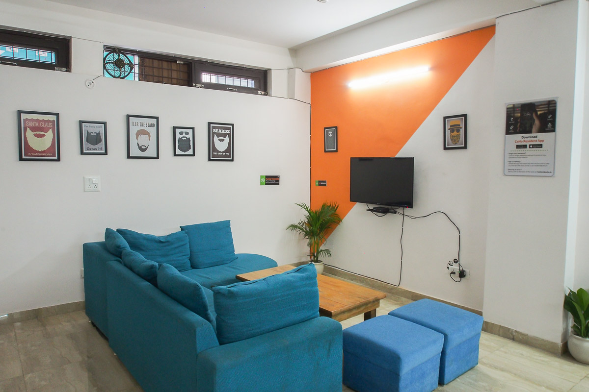Covid free rental accommodation for male