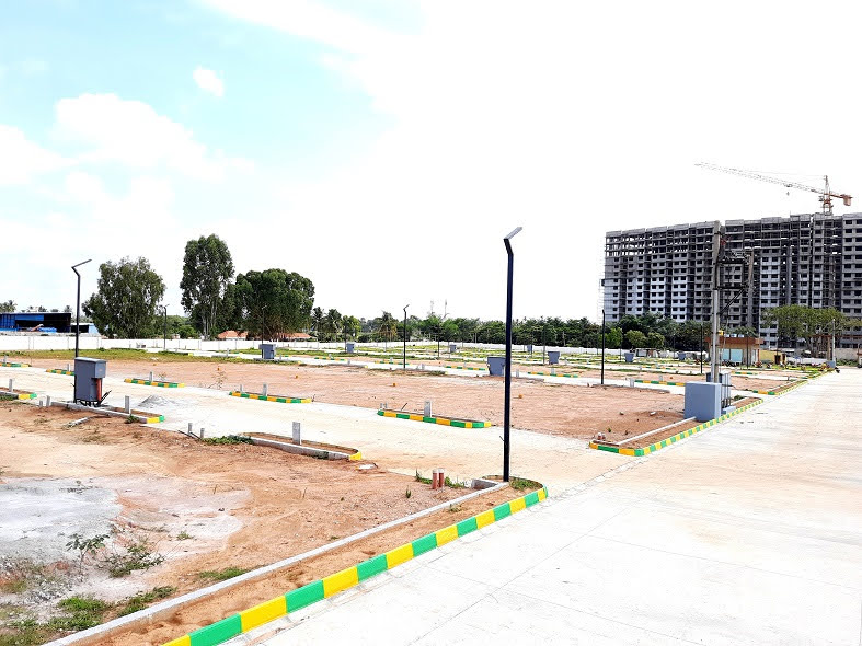 Residential Plots For Sale in Bangalore East Near Old Madras Road