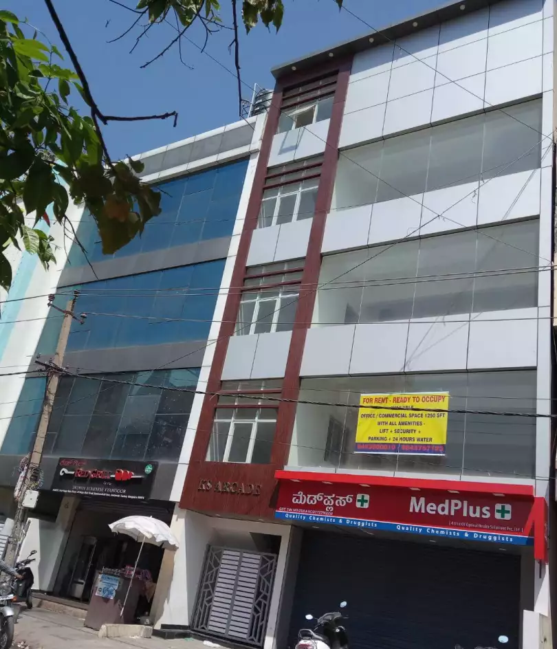NEWLY CONSTRUCTED COMMERCIAL SPACE AVAILABLE FOR RENT/LEASE IN BOMMANAHALLI