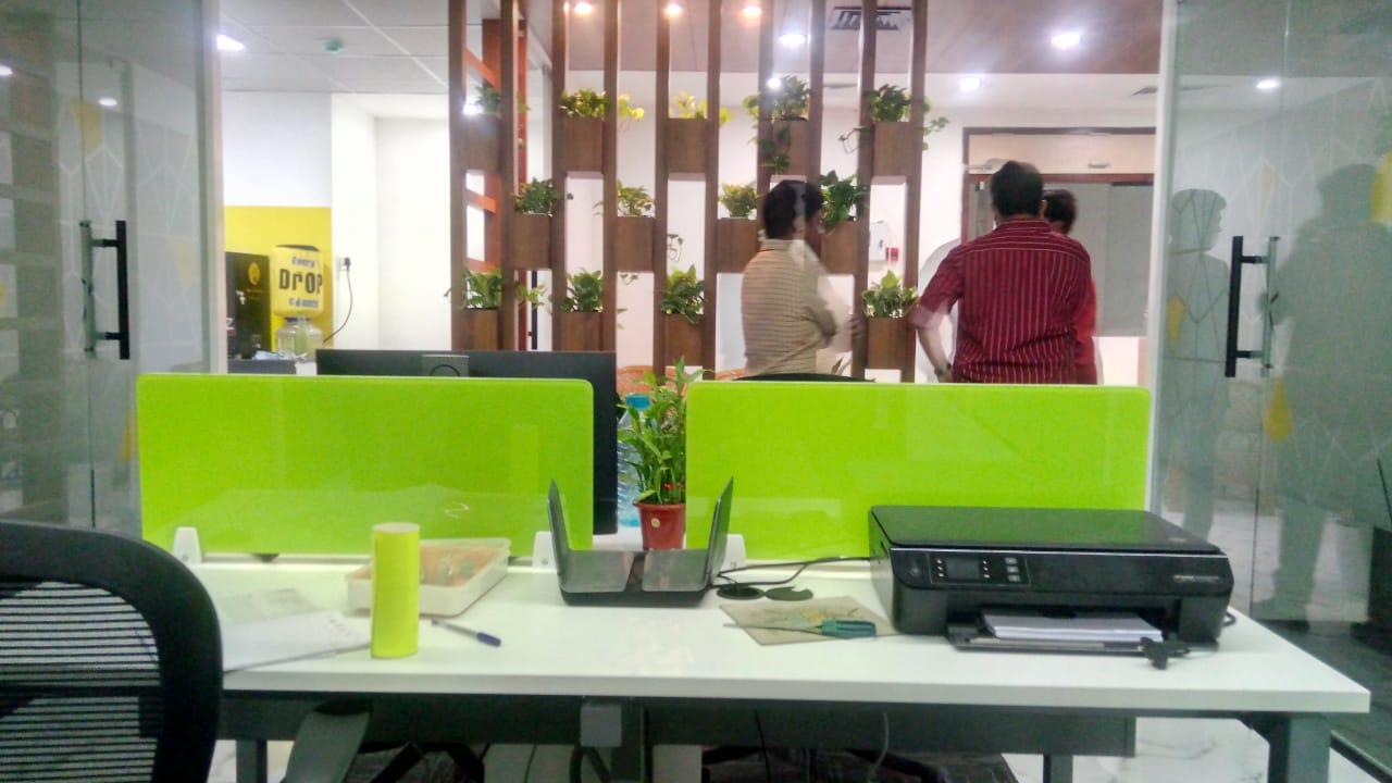 Co- working office space in manjeera majestic comeerical