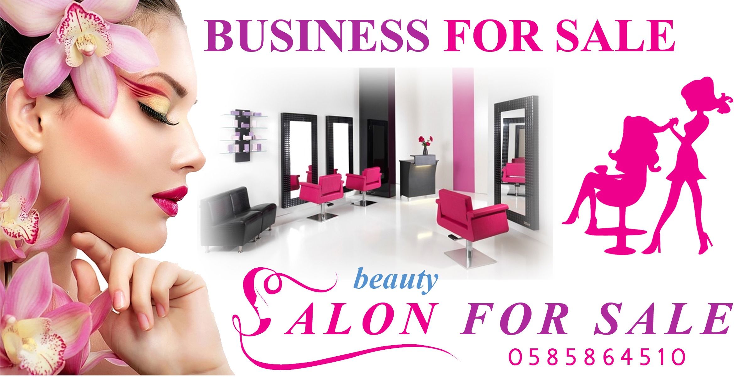 Running Ladies Saloon For Sale in  Bangalore