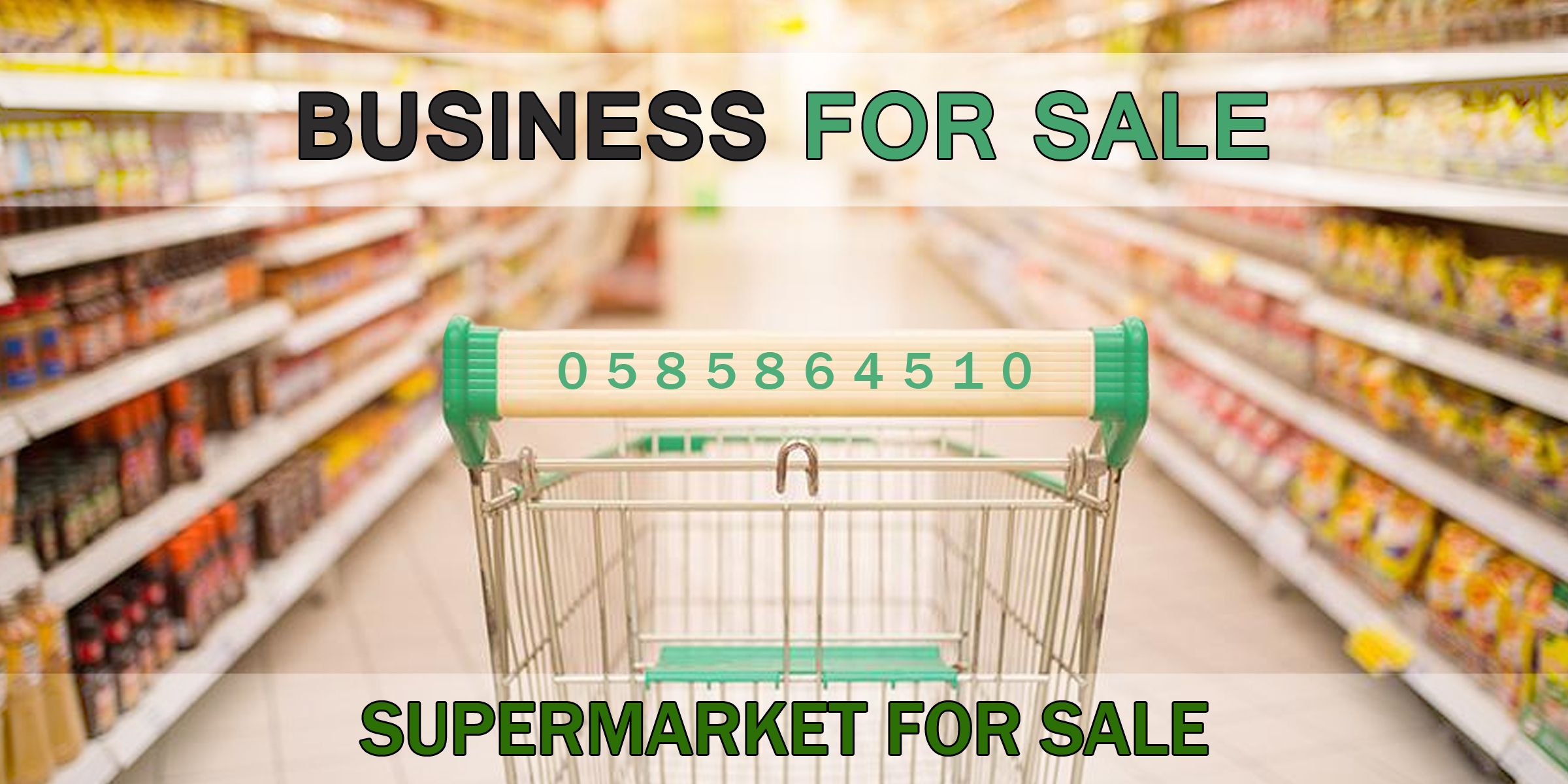 Running Supermarket for lease in HBR- Bangalore