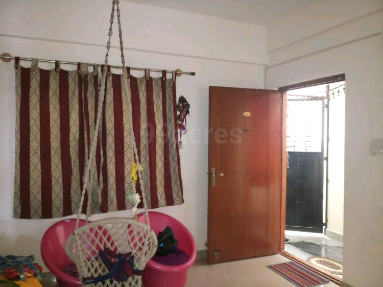Semi-Furnished 2-BHK flat available for rent